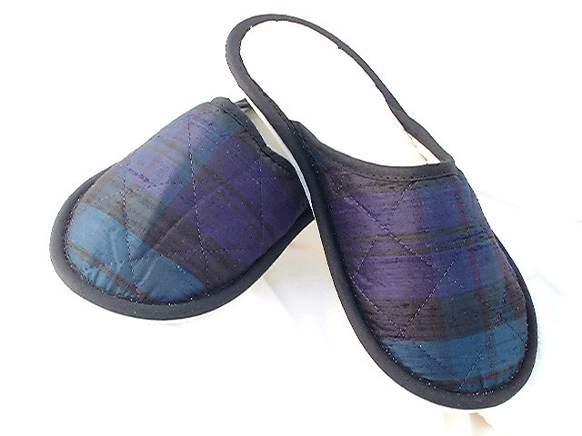 Style 318 Black Watch Tartan Slippers