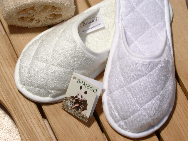 3.3 Washable Bamboo Towelling Slippers