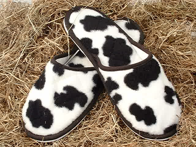 Style 327 Cow Slippers