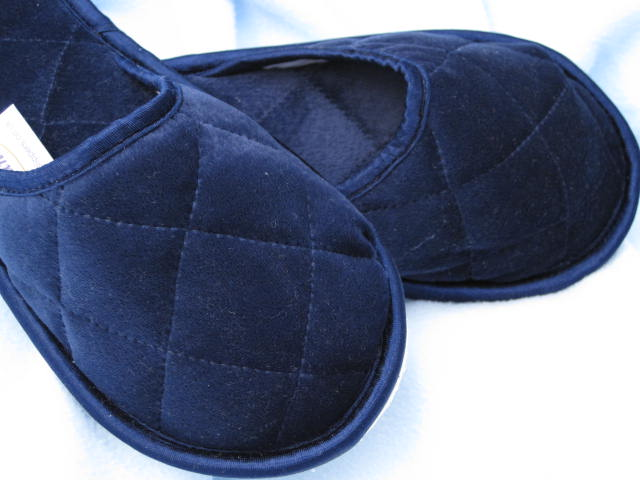 Style 342 Velour Slippers