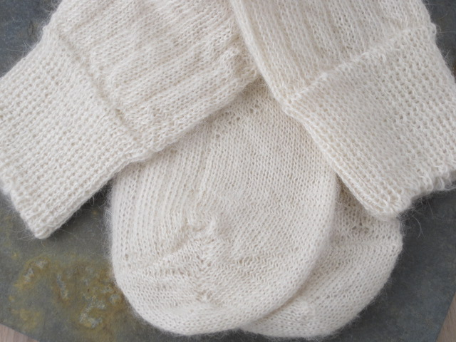 New Kid Mohair Bedsocks from Corrymoor UK