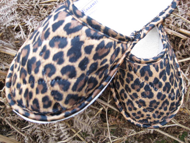 Style 338 Leopard Print Slippers